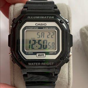 Casio Illuminator retro watch
